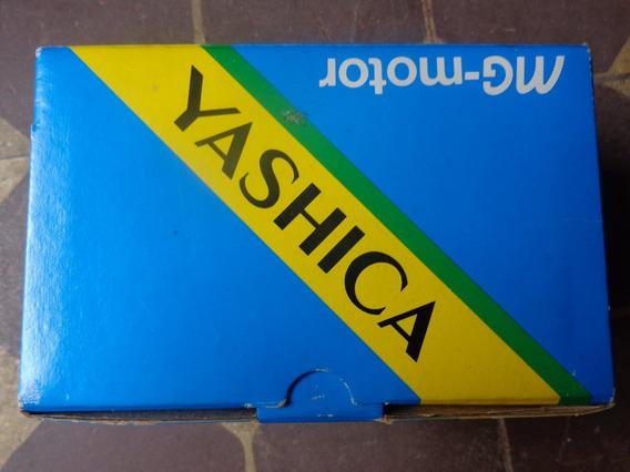 Câmera Fotográfica Yashica Mg Motor Caixa Original