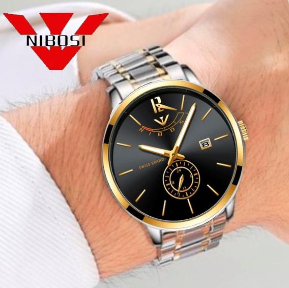 Relógio Nibosi 2318 Original Funcional Pronta Entrega