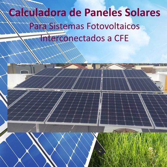 Calculadora De Kits De Paneles Solares Interconectados