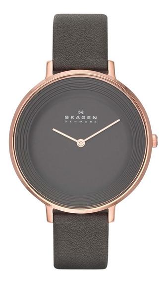 Relógio Skagen Feminino Slim Analógico Skw2216/2cl