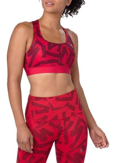 Asics Top Training Mujer Run Bra Rojo