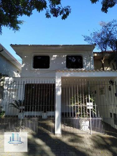 Imagem 1 de 30 de Sobrado Para Alugar, 160 M² Por R$ 4.000,00/mês - Planalto Paulista - São Paulo/sp - So0169