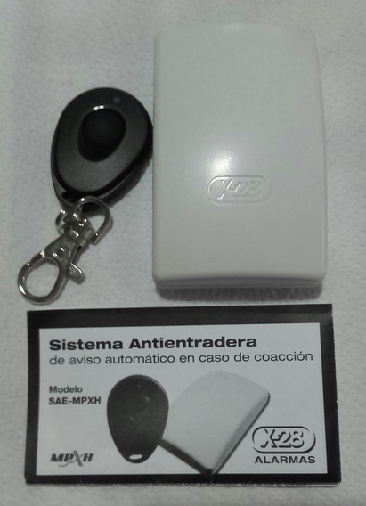 Sistema Antientradera Sae-mpxh. Anti Entradera Alarma X28