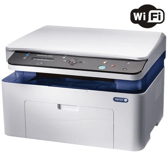 Multifuncional Laser Mono Xerox Wc 3025bib Wifi/rede