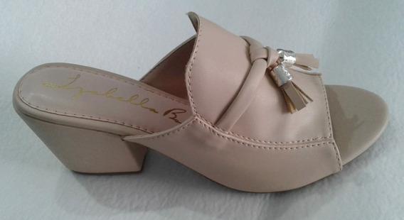 Sapato Feminino Mule De Saltinho Sandália 20% Off