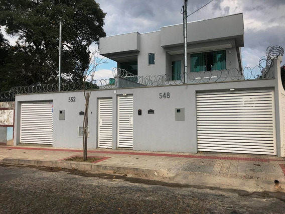 Linda Casa Bairro Santa Branca, 3 Quartos, 1 Suite Com Closet. 3 Vagas, Excelente Acabamento. - 2430