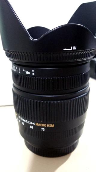 Lente Sigma 17-70 2.8 / 4.0 P/ Canon
