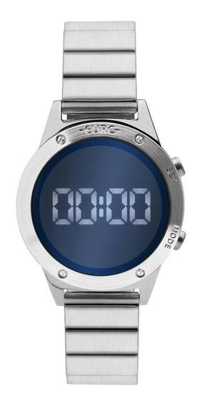 Relógio Feminino Euro Digital Prata Eujhs31baa/3a