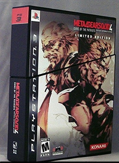 Metal Gear Solid 4: Guns Of The Patriots - Edición Limitada
