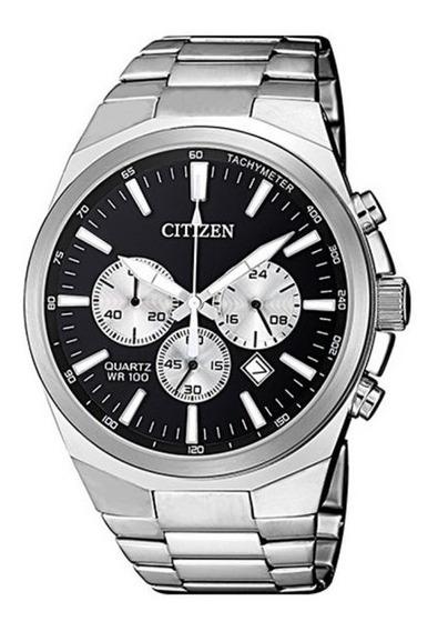 Relógio Citizen Masculino Prata Tz31105t Cronógrafo