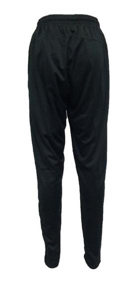 Pantalón Negro Frizado 100% Algodón