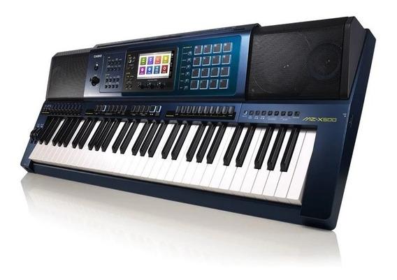 Teclado Casio Mz-x500 Novo Profissional Lançamento Usb Touch