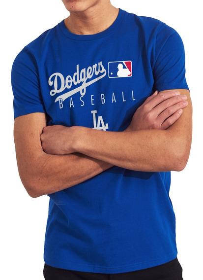 Playera Camiseta Dodgers Los Angeles Caballero