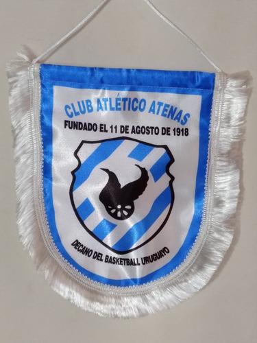 Imagen 1 de 3 de Banderín Club Atlético Atenas, Nuevos - Fabricamos
