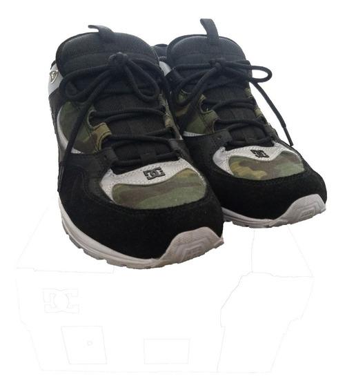 Tênis Dc Shoes Kalis Lite Se Imp - Black/camo Tam: 43