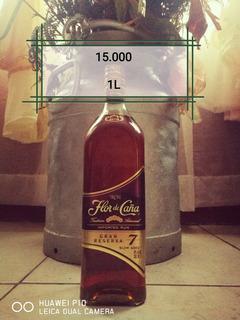 Botella Flor De Caña 7 Años