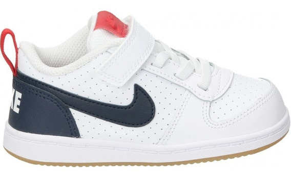 Tenis Nike Bebé Court Borough Low (tdv) 870029-105