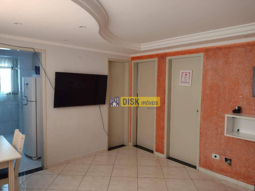 Imagem 1 de 4 de Apartamento Com 2 Dormitórios À Venda, 51 M² Por R$ 200.000,00 - Alves Dias - São Bernardo Do Campo/sp - Ap0215