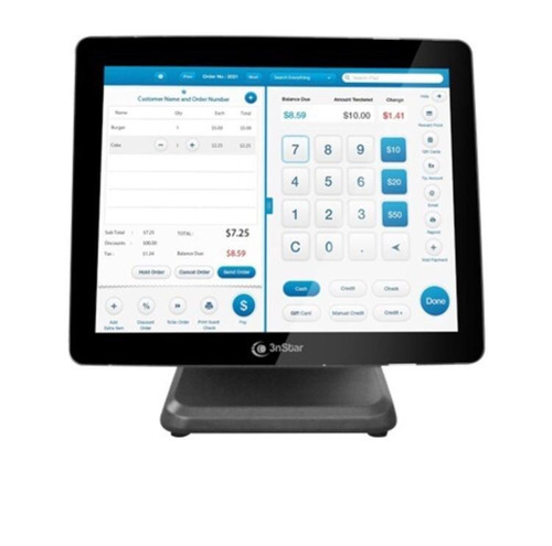 All In One Pos Touch Sreen 3nstar Pte 105w 4gb Ssd 120