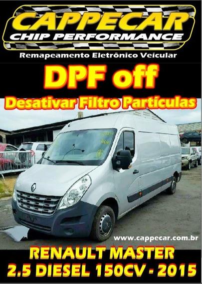 Dpf Off Renault Master - Desativar Filtro Particulas Diesel