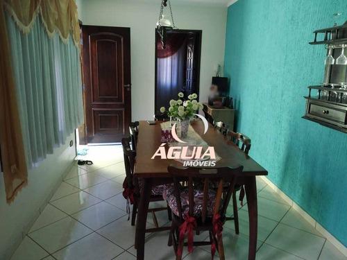 Imagem 1 de 20 de Casa Com 3 Dormitórios À Venda, 118 M² Por R$ 493.000,00 - Parque Jaçatuba - Santo André/sp - Ca0755