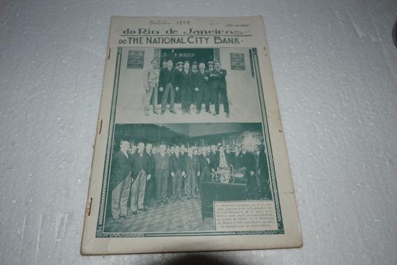 Revista Do Rio De Janeiro Do National City Bank 1919 Rara