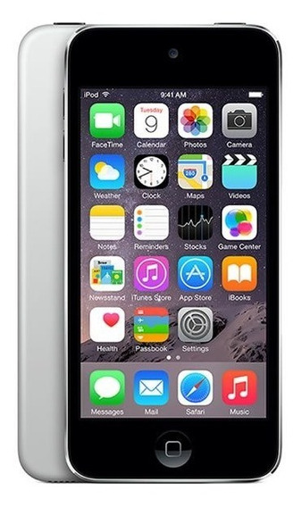 iPod Touch 5 16gb Prata A1509 (sem Câmera Traseira) - Leia