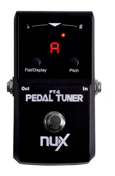 Pedal Afinador Para Guitarra E Baixo Pt-6 Nfa-3042 Nux