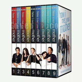 Como Conoci A Tu Madre How I Met Your Mother Serie 1 - 9 Dvd