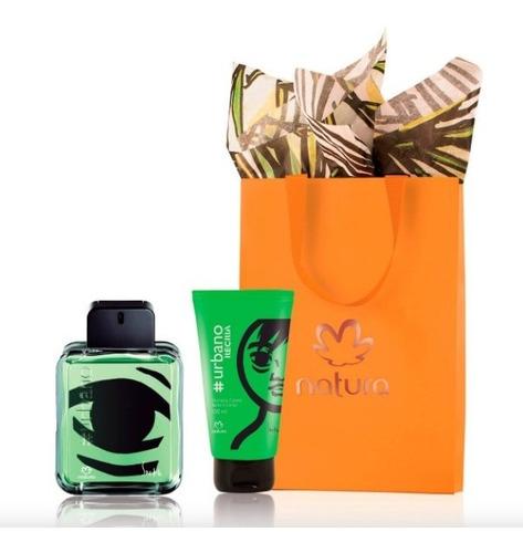 Kit Perfume Urbano Recria Natura + Sham - mL a $324