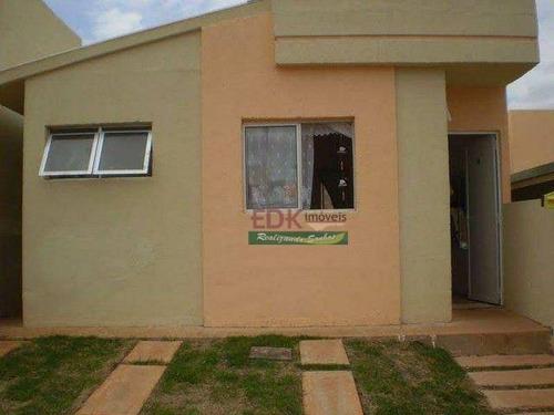 Imagem 1 de 6 de Casa Com 2 Dormitórios À Venda, 100 M² Por R$ 350.000 - Jardim Das Paineiras Ii - São José Dos Campos/sp - Ca6604