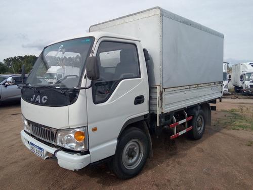 Camión Jac 1035, Caja Con Furgón, Buen Estado