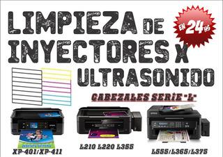 Limpieza De Cabezal Epson L220 L355 L365 L375 X Ultrasonido