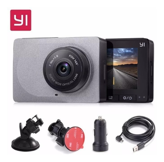 Câmera Filmadora Carro Xiaomi Yi Smart Dash Visao Noturna