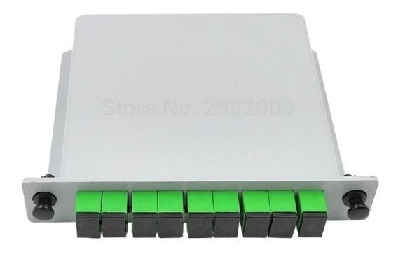 30 Splitter Box Óptico Modular Plc 1x8 Sc Apc Conectizado