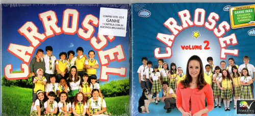 Cd Carrossel 2012 Vol. 1 E 2 Novela Infantil Sbt Bonellihq