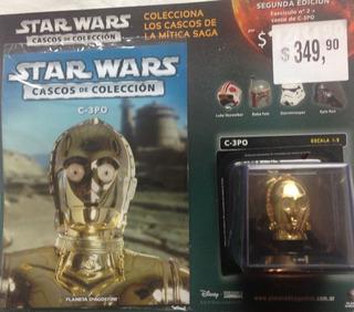 Casco Star Wars   N°2   C-3po