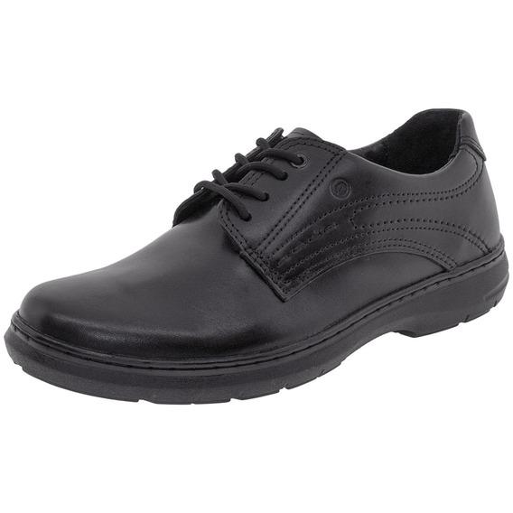 Sapato Masculino Social Pegada - 21211 Preto 04