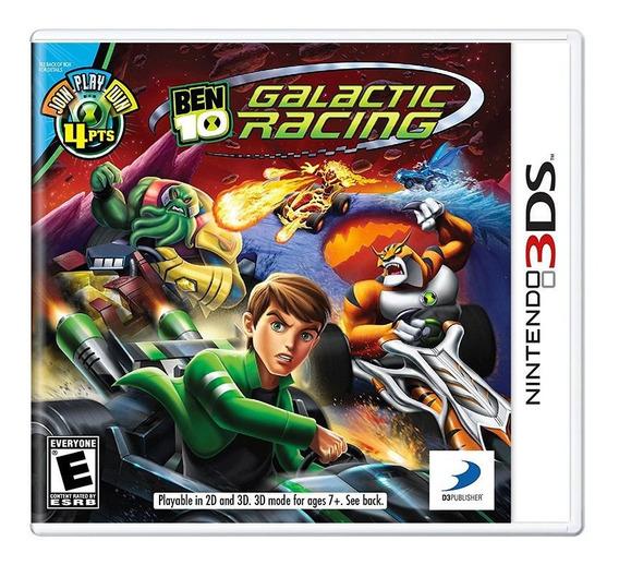 Jogo Nintendo 3ds Ben 10 Galactic Racing