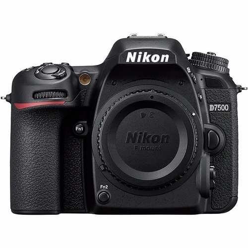 Câmera Profissional Nikon Dslr D7500 Apenas O Corpo