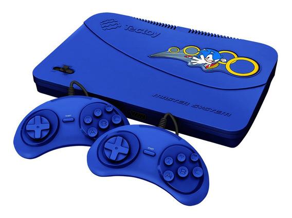 Video Game Master System Evolution Com 132 Jogos - Tectoy