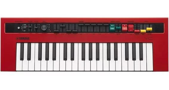 Teclado Orgão Yamaha Reface Yc Vermelho C/ Fonte E Cabo Midi