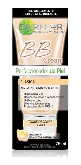 Crema Facial Bb Cream Garnier Tono Claro 60ml