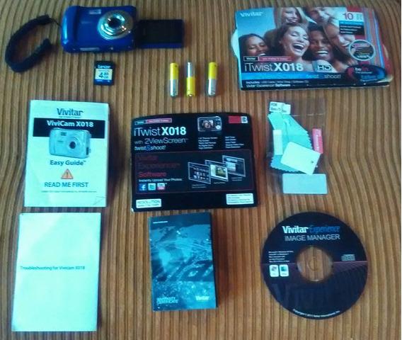 Camara Digital De 10.1 Mp Con Poco Uso Y Sus Accesorios