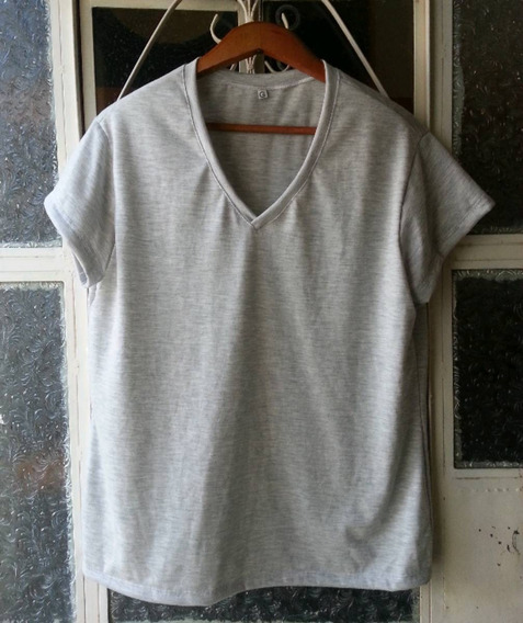Camiseta Feminina Malha Pv Tam M