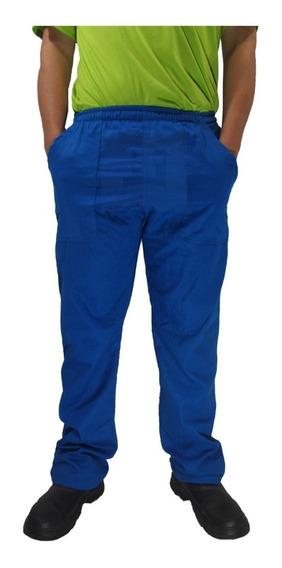 Calça Brim Cinza Preta Azul Para Trabalho Pesado Resistente