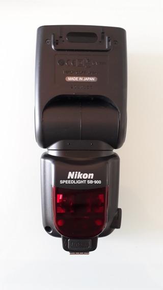 Flash Nikon Sb-900 (excelente)