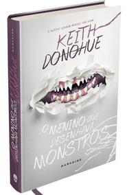 Livro - O Menino Que Desenhava Monstros - Capa Dura #