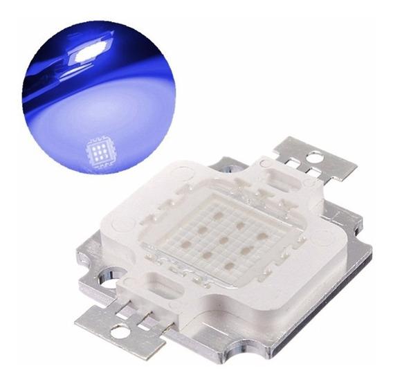 Super Power Led Chip 10w Azul Royal 10w 9-12v