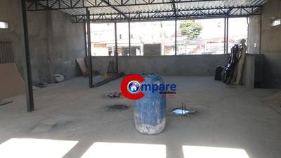 Salão Para Alugar, 140 M² Por R$ 3.400/mês - Picanco - Guarulhos/sp - Sl0090